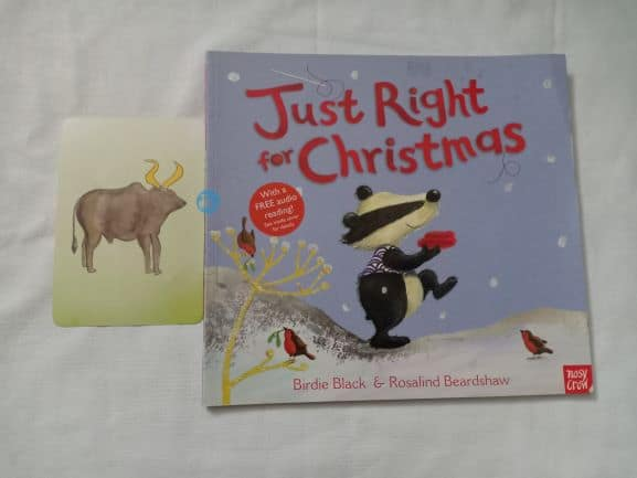 Advent Review: Just Right For Christmas By Birdie Black