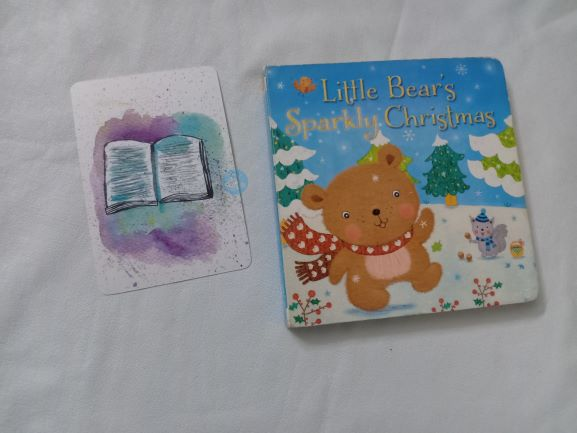 Advent Review: Little Bear's sparkly Christmas By Julia Stone