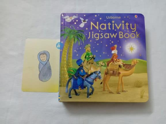 Nativity jigsaw