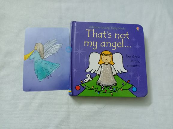 Advent Review: That's Not my Angel By Fiona Watt