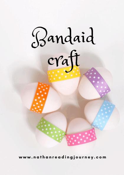 How to make Humpty Dumpty craft/ Dinosaur Egg Craft Using Band aid?