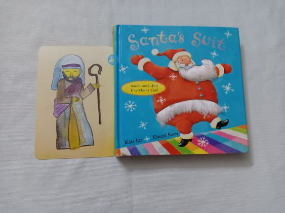 Advent Review: Santa's Suit by Kate Lee