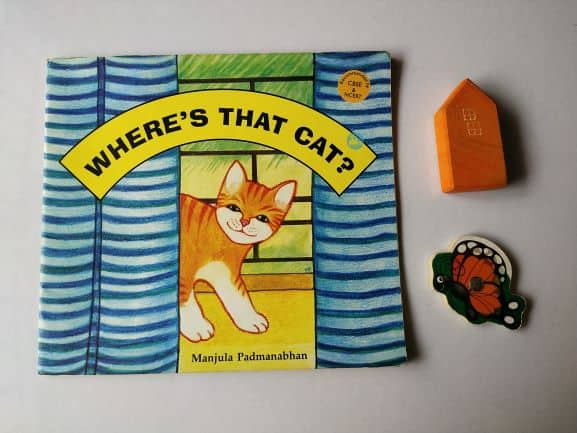 REVIEW: Where's that cat? By Manjula Padmanabhan