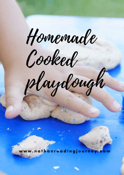 cooked playdough