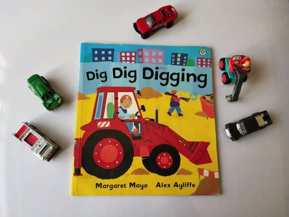 REVIEW: Dig Dig Digging by Margaret Mayo and Alex Ayliffe