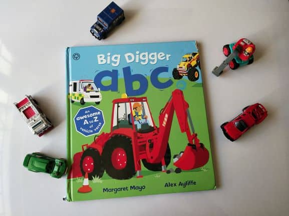 REVIEW: Big digger ABC by Margaret Mayo