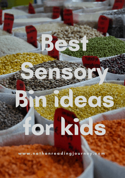 The Best Sensory Bin ideas for kids