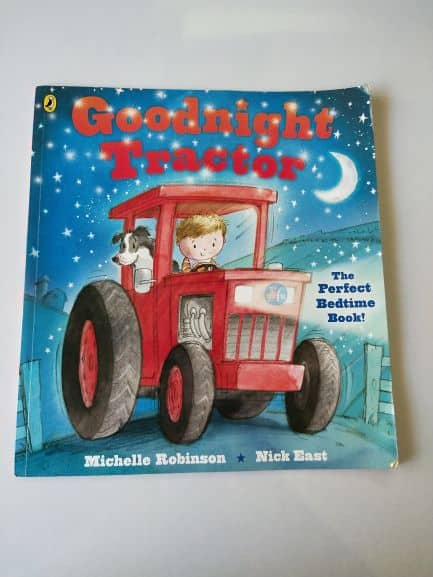 Review: Goodnight tractor by Michelle Robinson