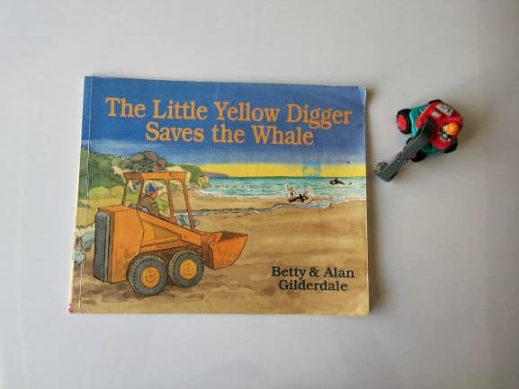 REVIEW: The little yellow digger saves the whale by Betty and Allan Gilderdale