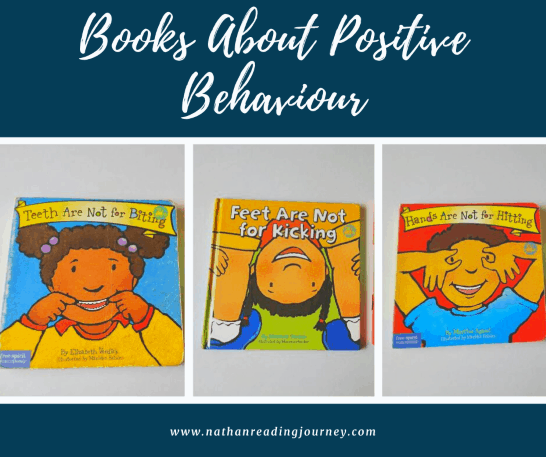 Books About Positive Behaviour By Elizabeth and Martine