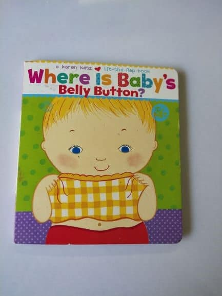 REVIEW: Where is Baby's Belly Button? by Karen Katz