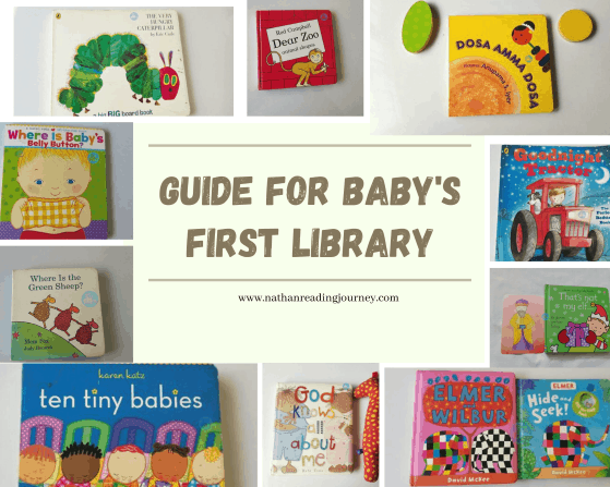 guide for baby's first library