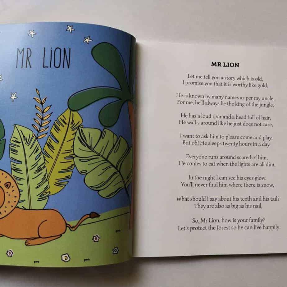 Meet the big courageous Mr lion