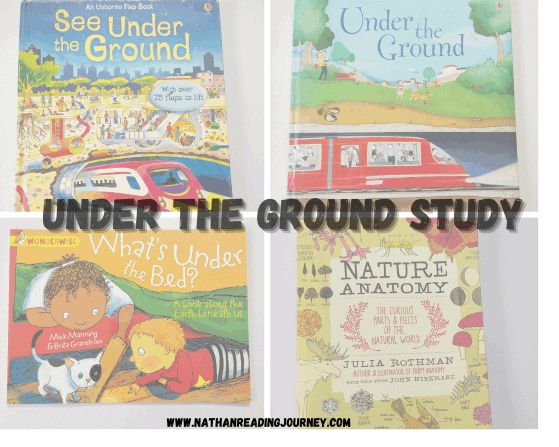 UNDER THE GROUND- A STUDY FOR PRESCHOOLERS