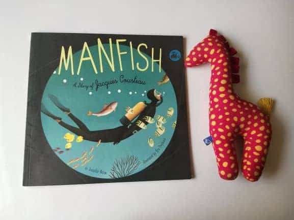 REVIEW: Manfish: A Story of Jacques Cousteau By Jennifer Berne