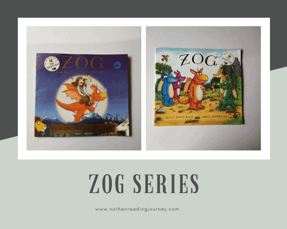 REVIEW: The Zog Series By Julia Donaldson