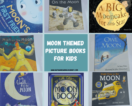 Moon Themed Picture Books for Kids