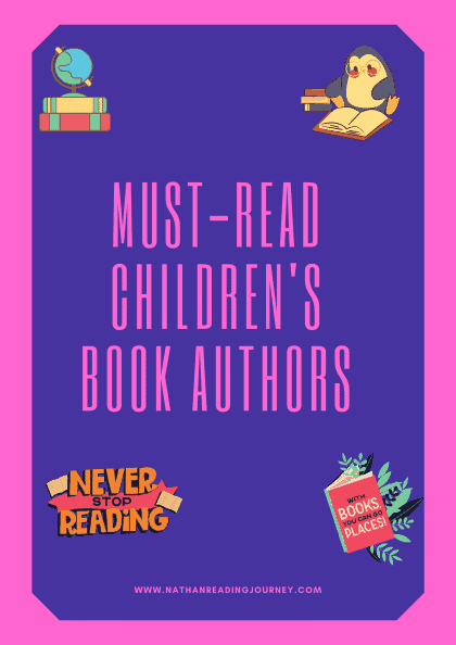 MUST-READ CHILDREN'S BOOK AUTHORS