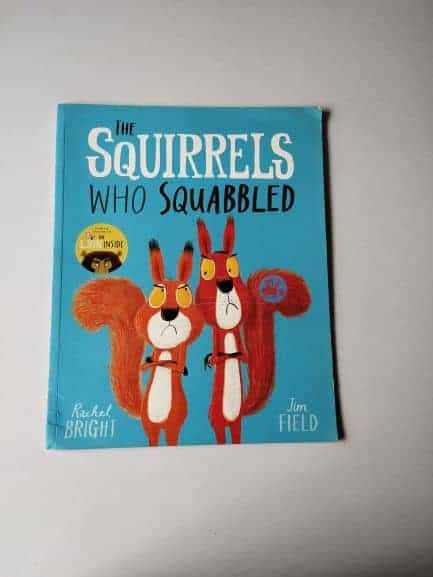 Review: The Squirrels Who Squabbled By Rachel Bright