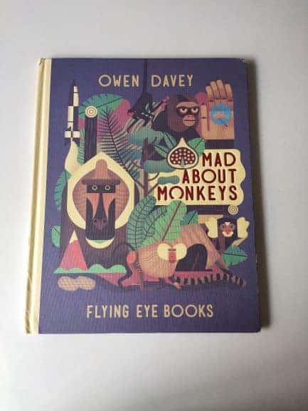 REVIEW: Mad About Monkeys By Owen Davey