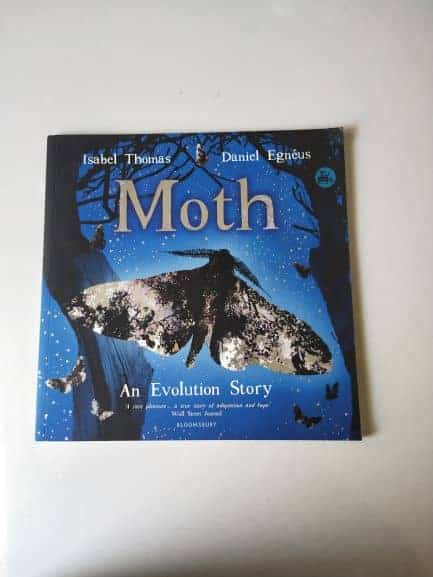 REVIEW: MOTH: An Evolution Story By Isabel Thomas