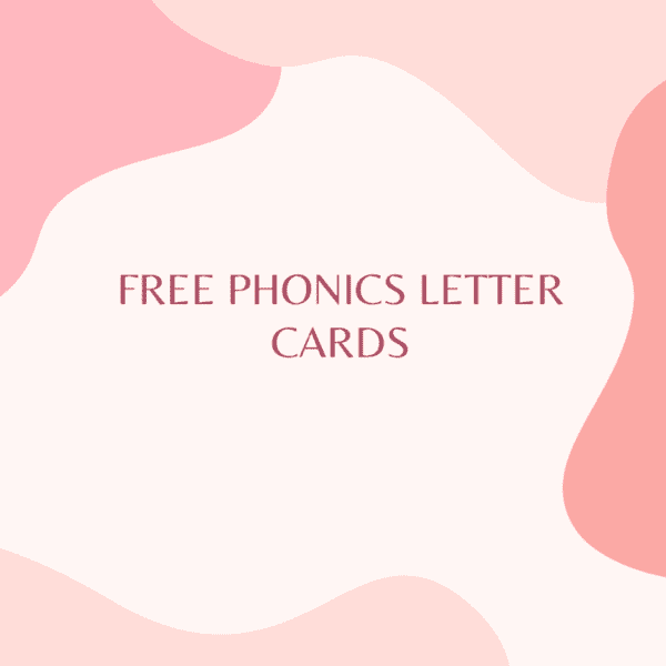 FREE A TO D PHONICS CARDS